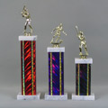 This is a image of three diffirent colored trophies and when selected will take the visitor to the trophies home page.